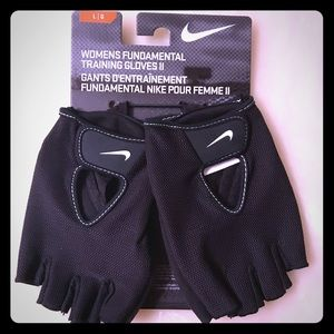 Nike Women's Training Gloves II, Large, Black, NWT